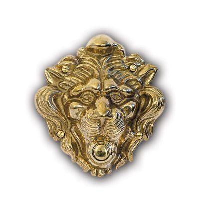 campanello ottone leone