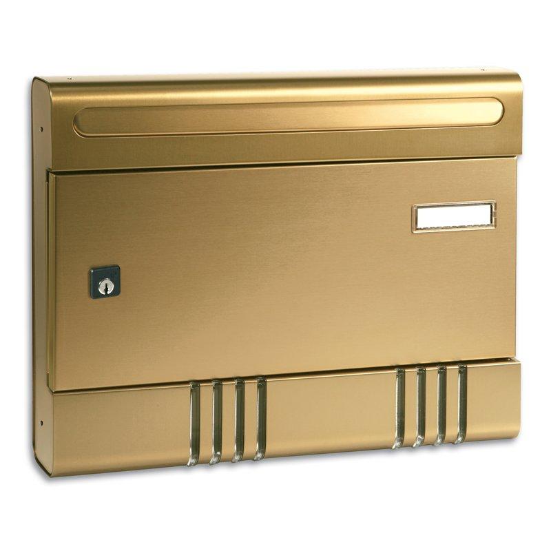 Serie Sire, cassetta postale da esterno in alluminio anodizzato
