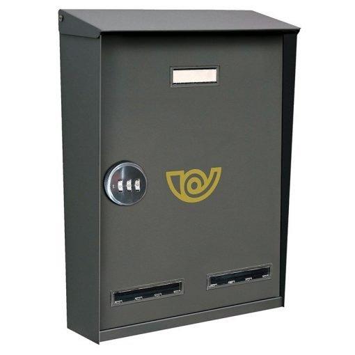 cassetta postale con serratura a combinazione