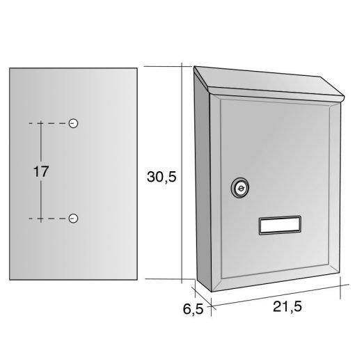 misure cassette per posta prima