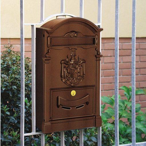 die-cast aluminium mailbox