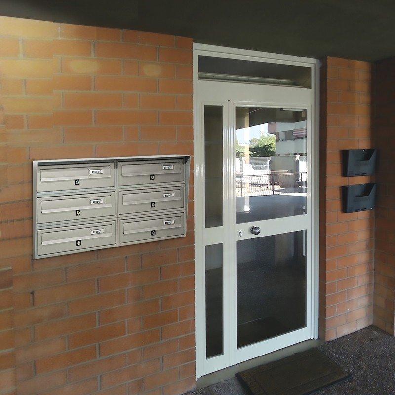 Casellario Postale Incassato a Muro a 6 porti