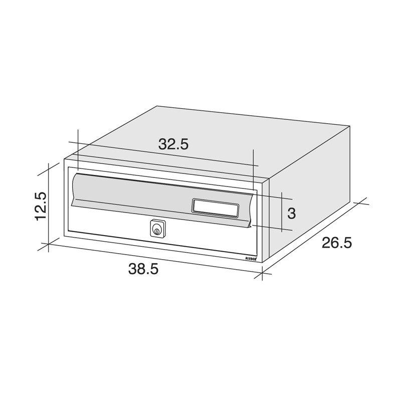 Dimensioni Cassette Postali Alubox Normative
