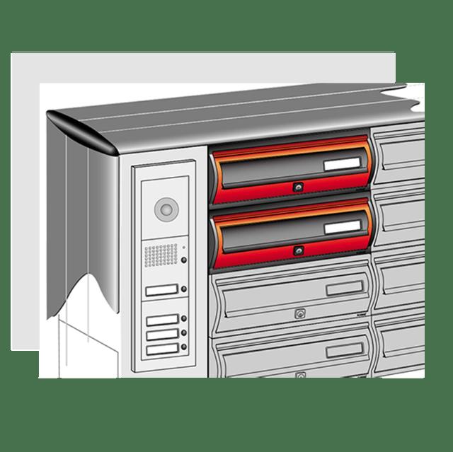 Accessori di Videocitofonia per casellari postali