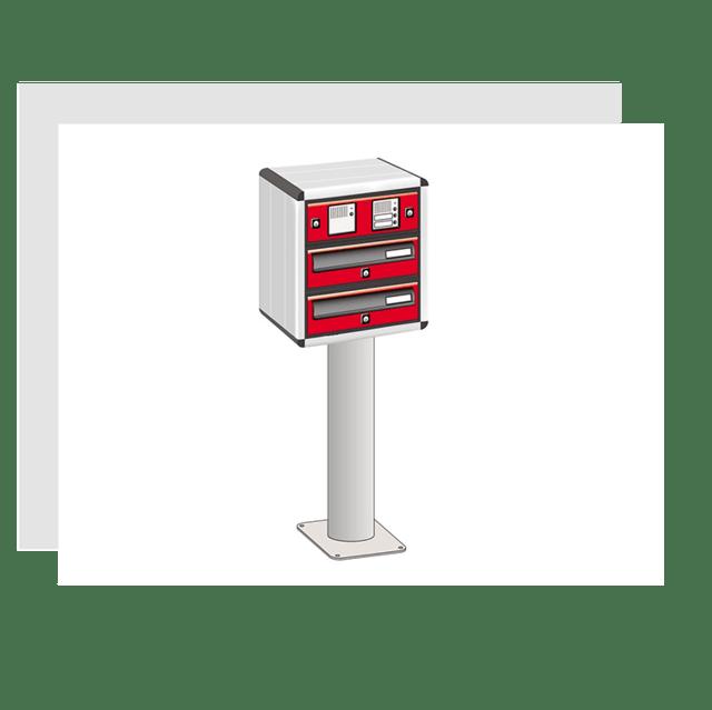 Freestanding Mailbox Sets