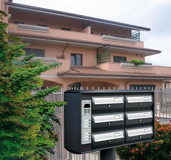 Cassette Postali Condominiali da esterno