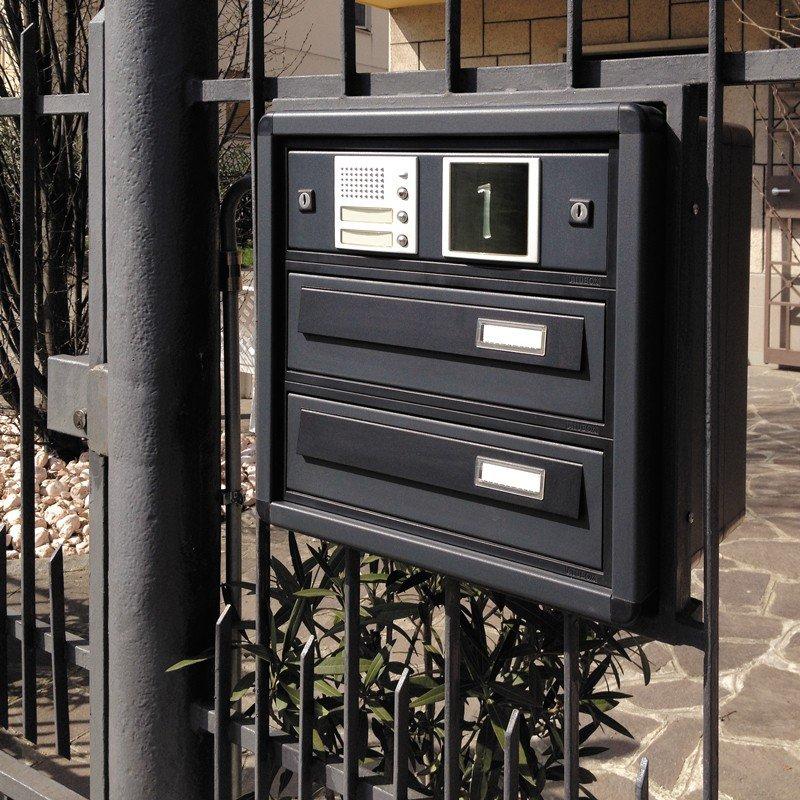 Resistenza agli agenti atmosferici cassette postali alubox