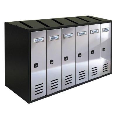 Cassette Postali composte 6 posti CUBO RIVISTA