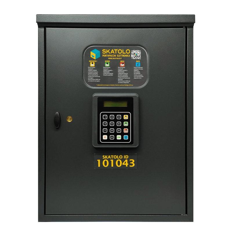 Cassetta portapacchi elettronica Skatolo Alubox