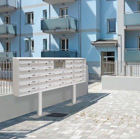 casellari postali condominiali da esterno