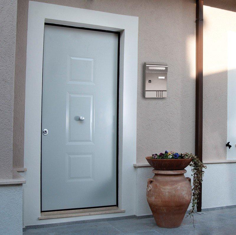 cassetta postale da interno o esterno protetto